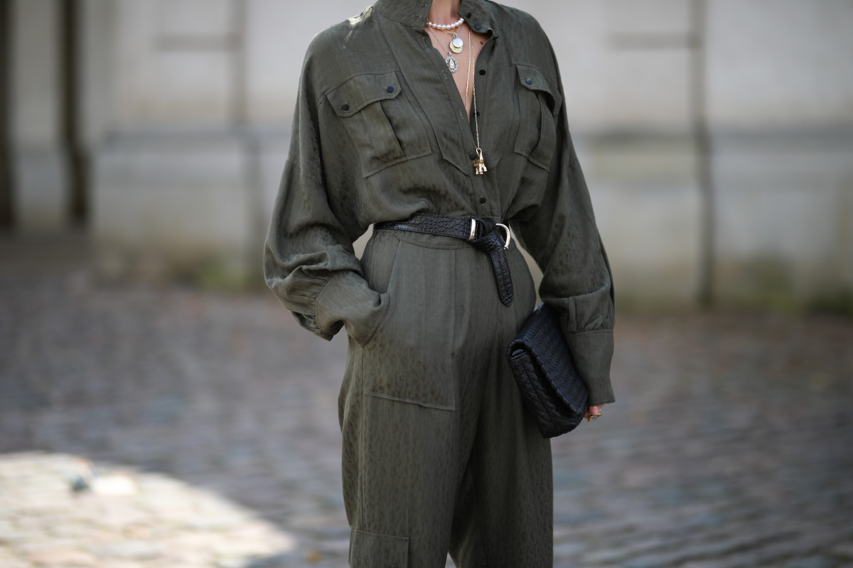 Street style from Copenhagen Fashion Week Spring 2020.