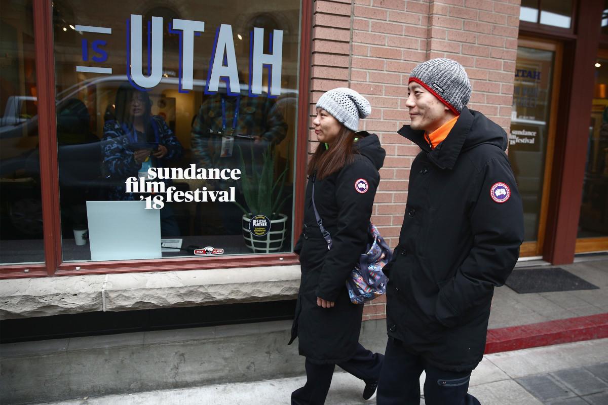Street style at the 2018 Sundance Film Festival.