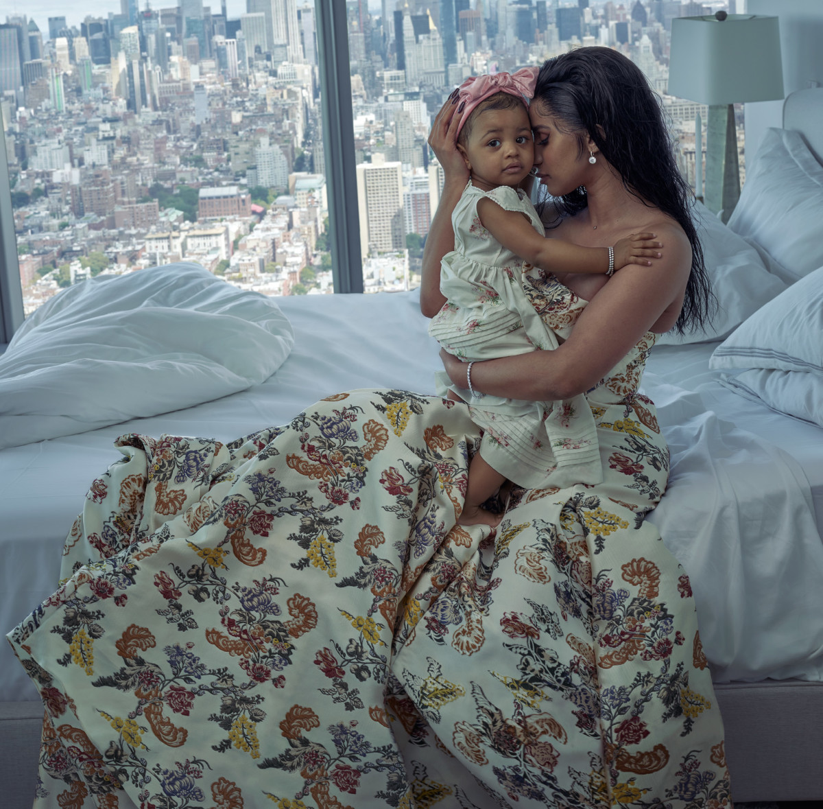 Kulture and Cardi B for 'Vogue'.