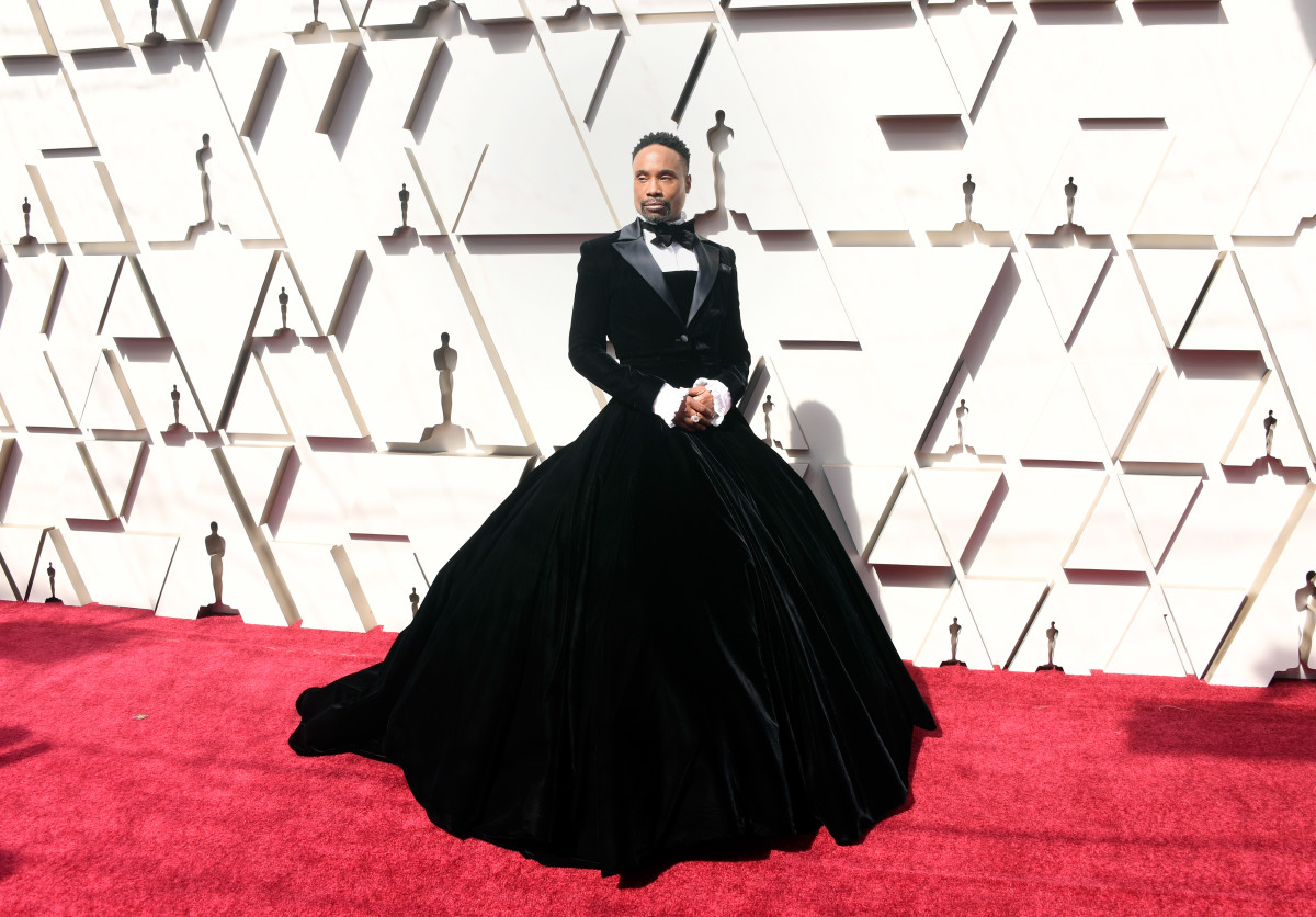 Billy Porter in Christian Siriano at the 2019 Oscars.