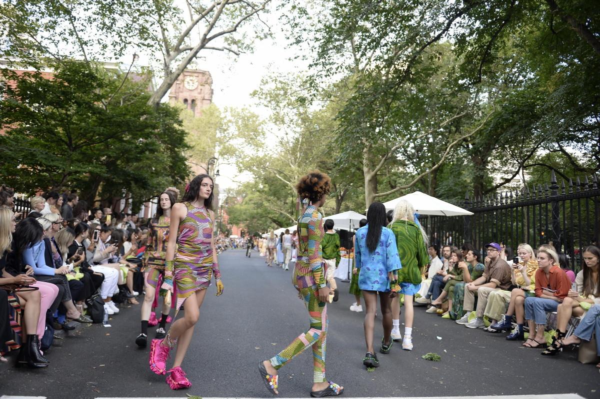 Collina Strada's Spring 2020 show.