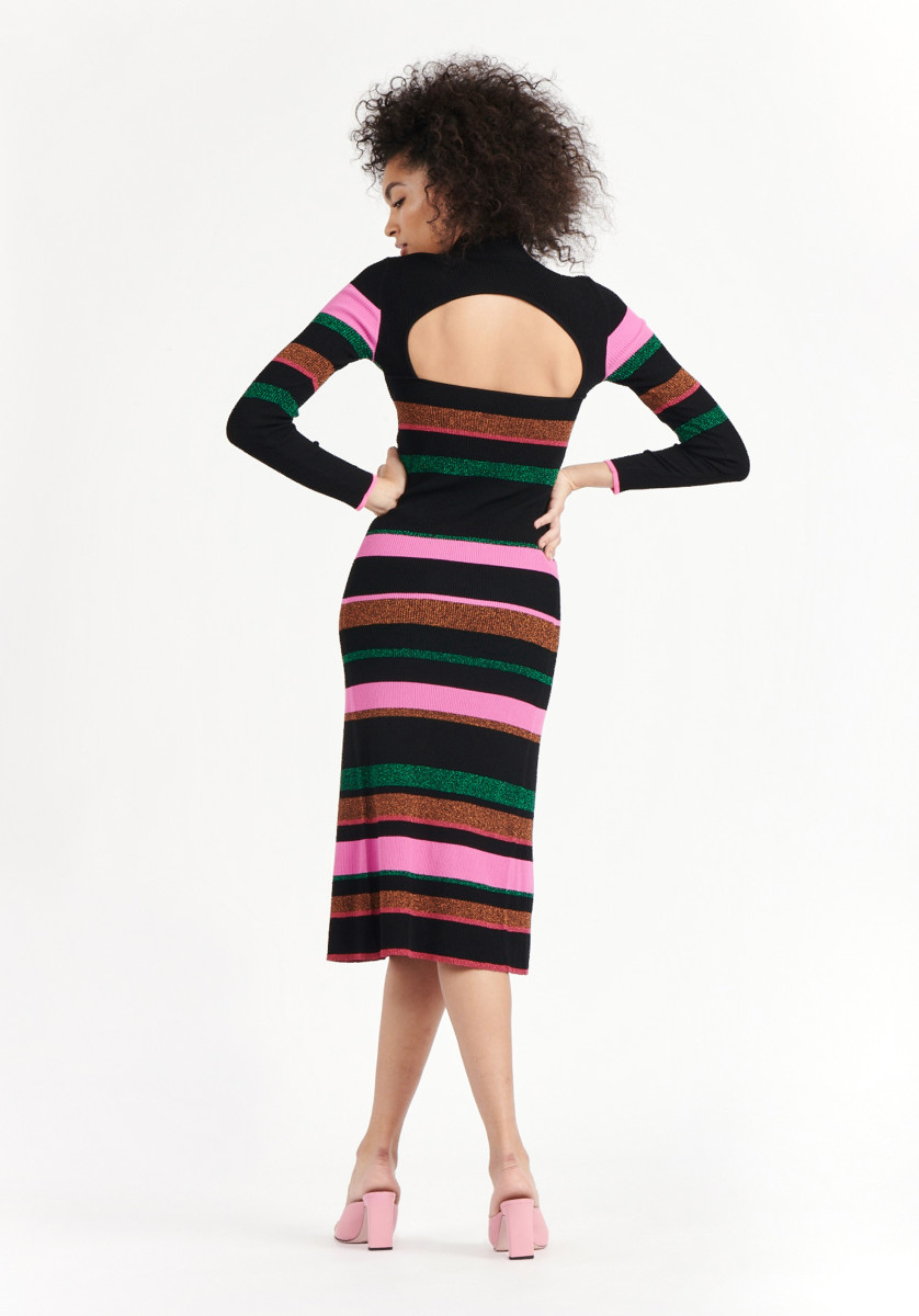 Tanya Taylor Velma dress, $525, available here.