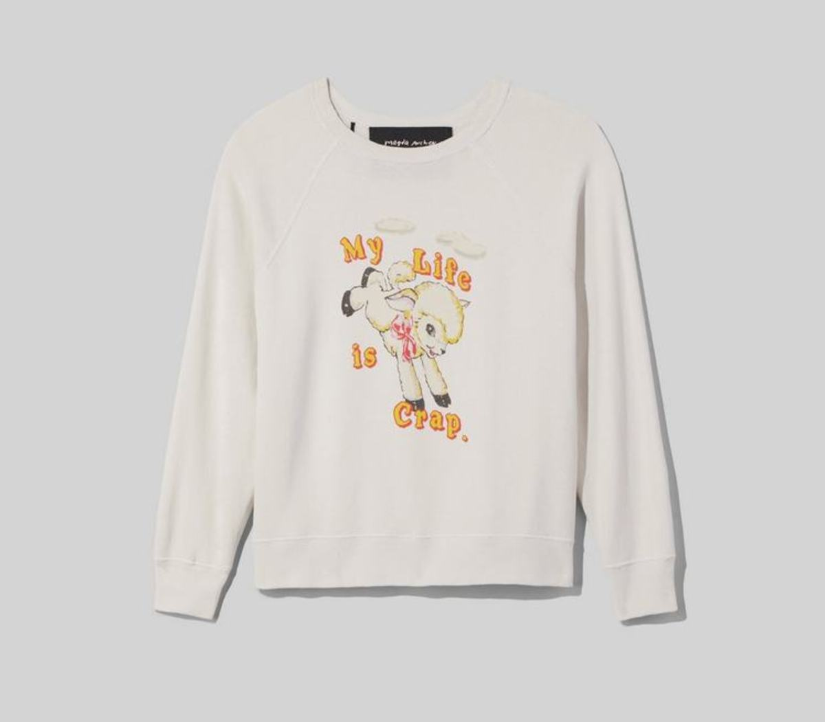 Magda Archer x The Marc Jacobs Sweatshirt, $225, available here.