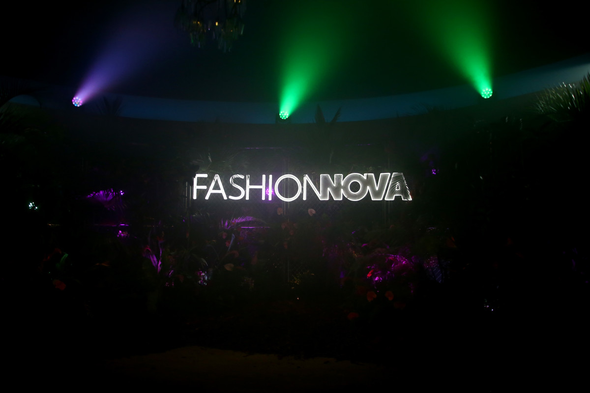Fashion Nova's Party with Cardi at Hollywood Palladium.