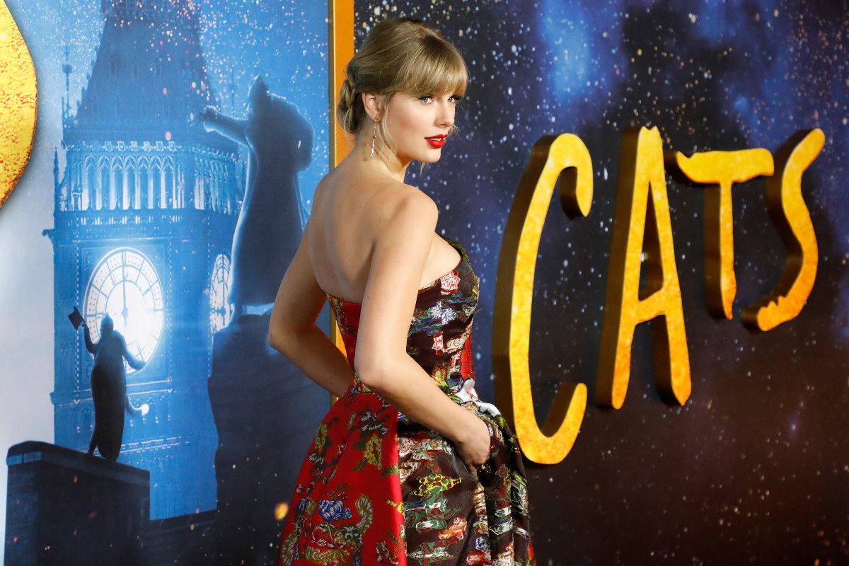 Taylor Swift at the New York premiere of 'Cats.'