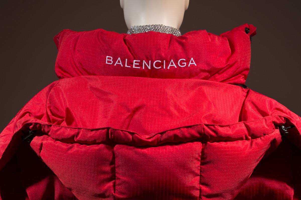 A puffer jacket by Demna Gvasalia for Balenciaga from 2016.