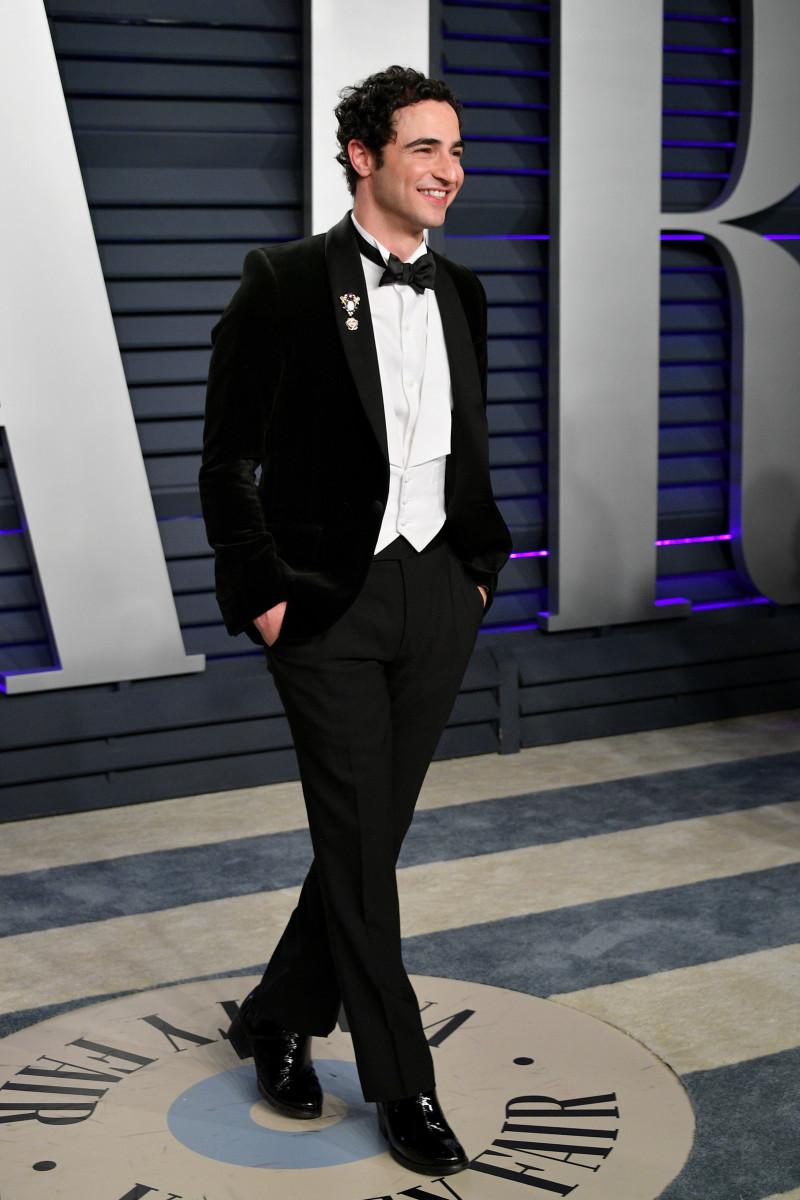 Zac Posen at the 2019 Vanity Fair Oscar Party.