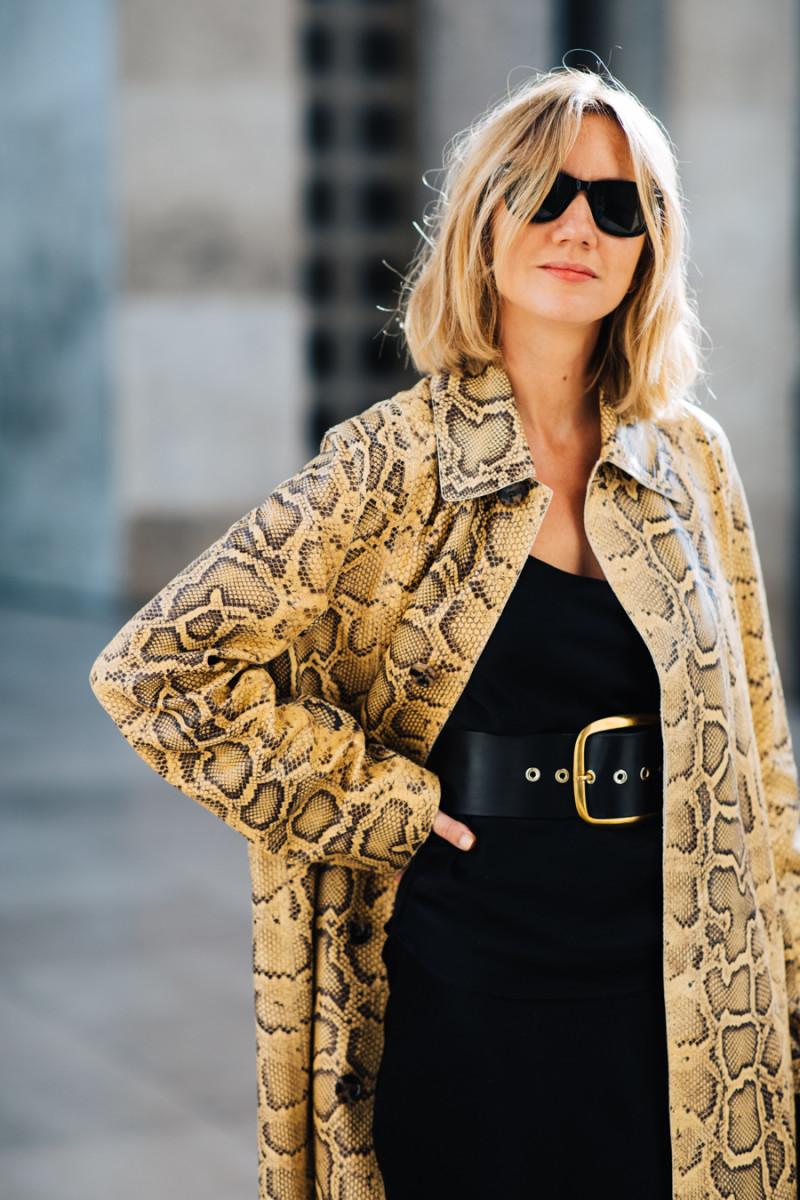 Lisa Aiken at Paris Fashion Week spring/summer 2020.