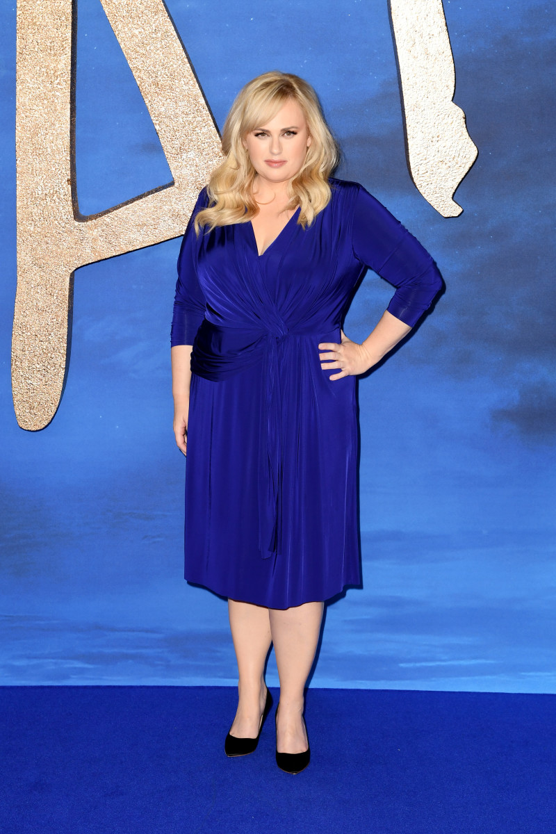 Rebel Wilson wore a Jason Wu dress from 11 Honoré to the London photo call for 'Cats.'