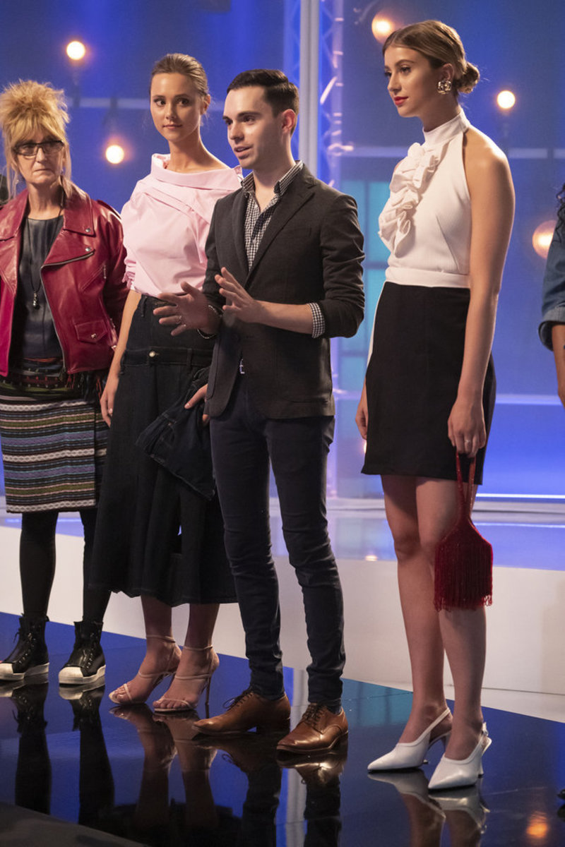 Tyler Neasloney with the losing look on 'Project Runway.'
