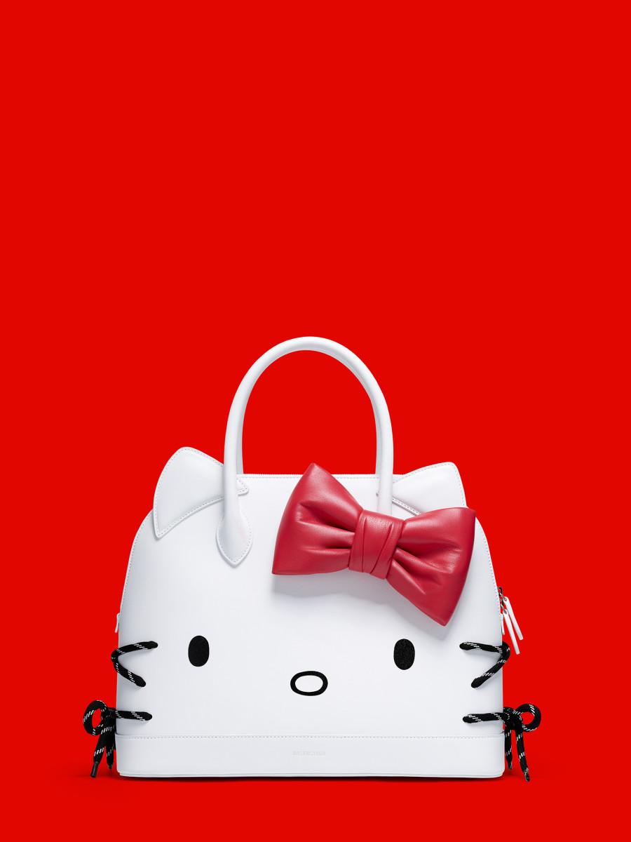 Hello Kitty X Balenciaga Ville Top Handle