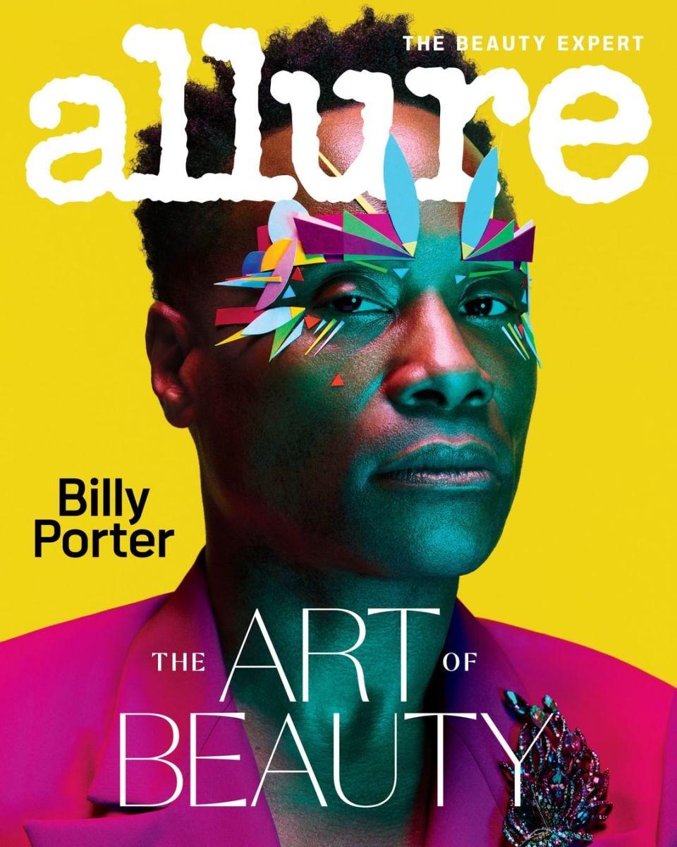 Billy Porter na capa de fevereiro de 2020 de