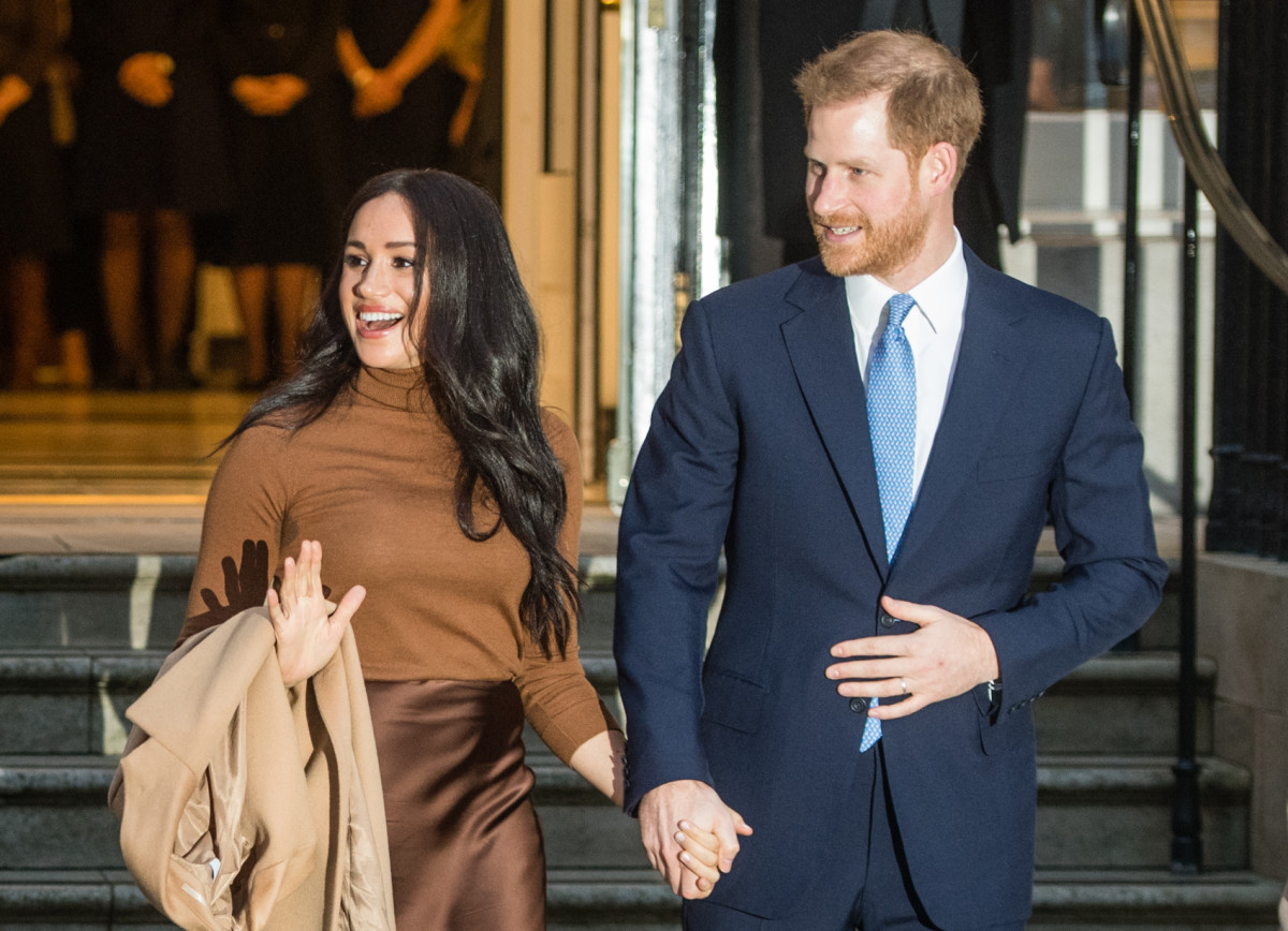 The Duke and Duchess of Sussex visit Canada House.