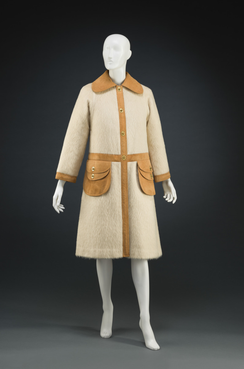 A Bonnie Cashin coat from the 1960s, part of the Cincinnati Art Museum collection.