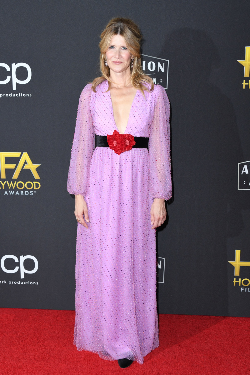 Laura Dern in Markarian at the 2019 Hollywood Film Awards.