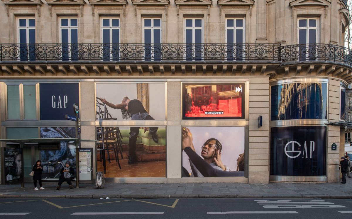 Telfar celebrates its collaboration with Gap in Paris.