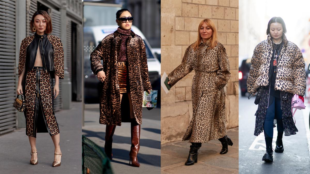Na rua, na Couture Week, primavera de 2020.
