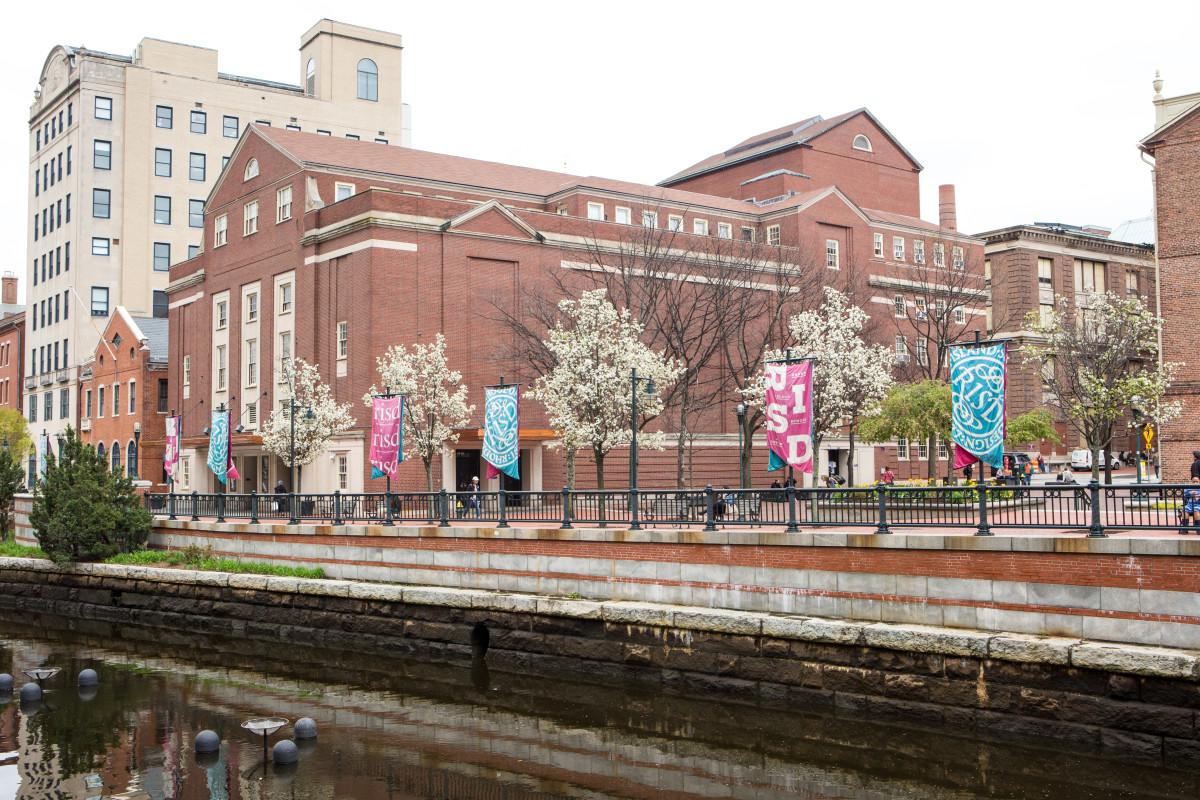 Rhode Island School of Design campus exterior. Photo:Jo Sittenfeld