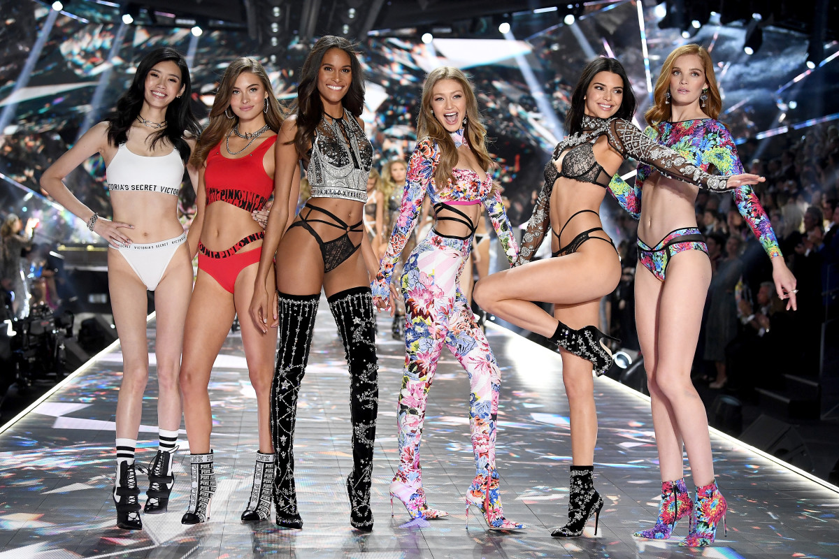 f66f1a73f81 The finale of the 2018 Victoria's Secret Fashion Show. Photo: Dimitrios  Kambouris/Getty
