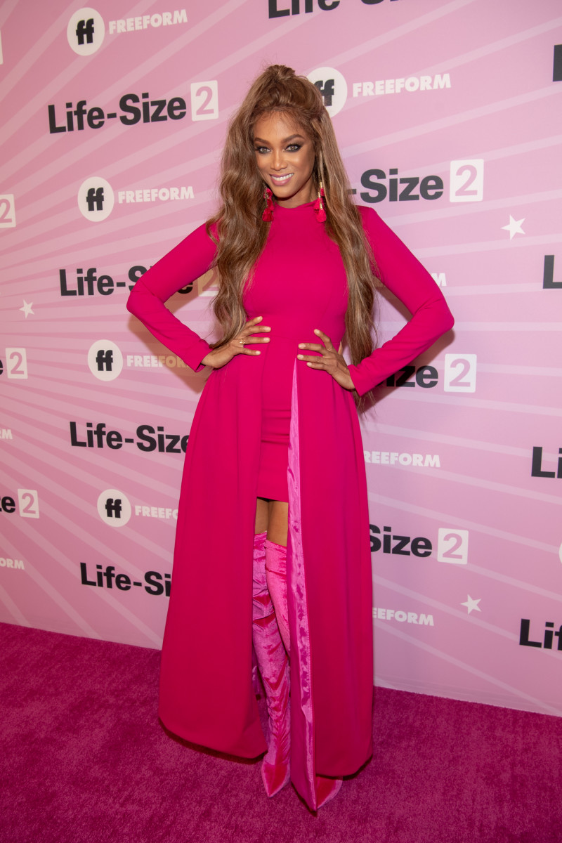 Tyra Banks at the premiere of 'Life-Size 2.' Photo: Emma McIntyre/Getty Images