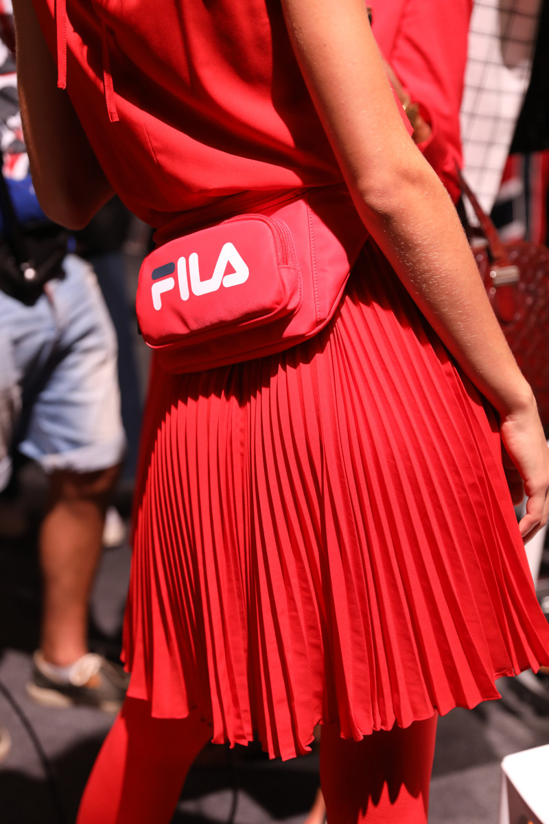 A look from the Fila Spring/Summer 2019 collection. Photo: Tristan Fewings/Getty Images
