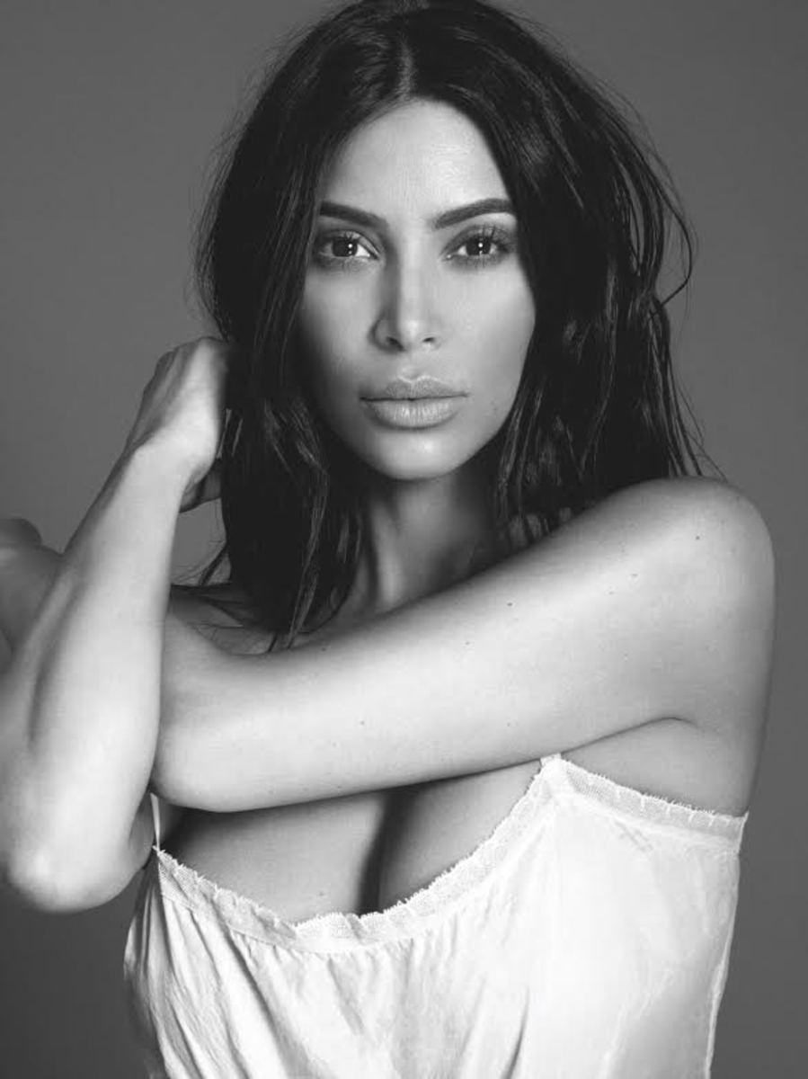 Kim Kardashian West for KKW Fragrance. Photo: courtesy of KKW Fragrance