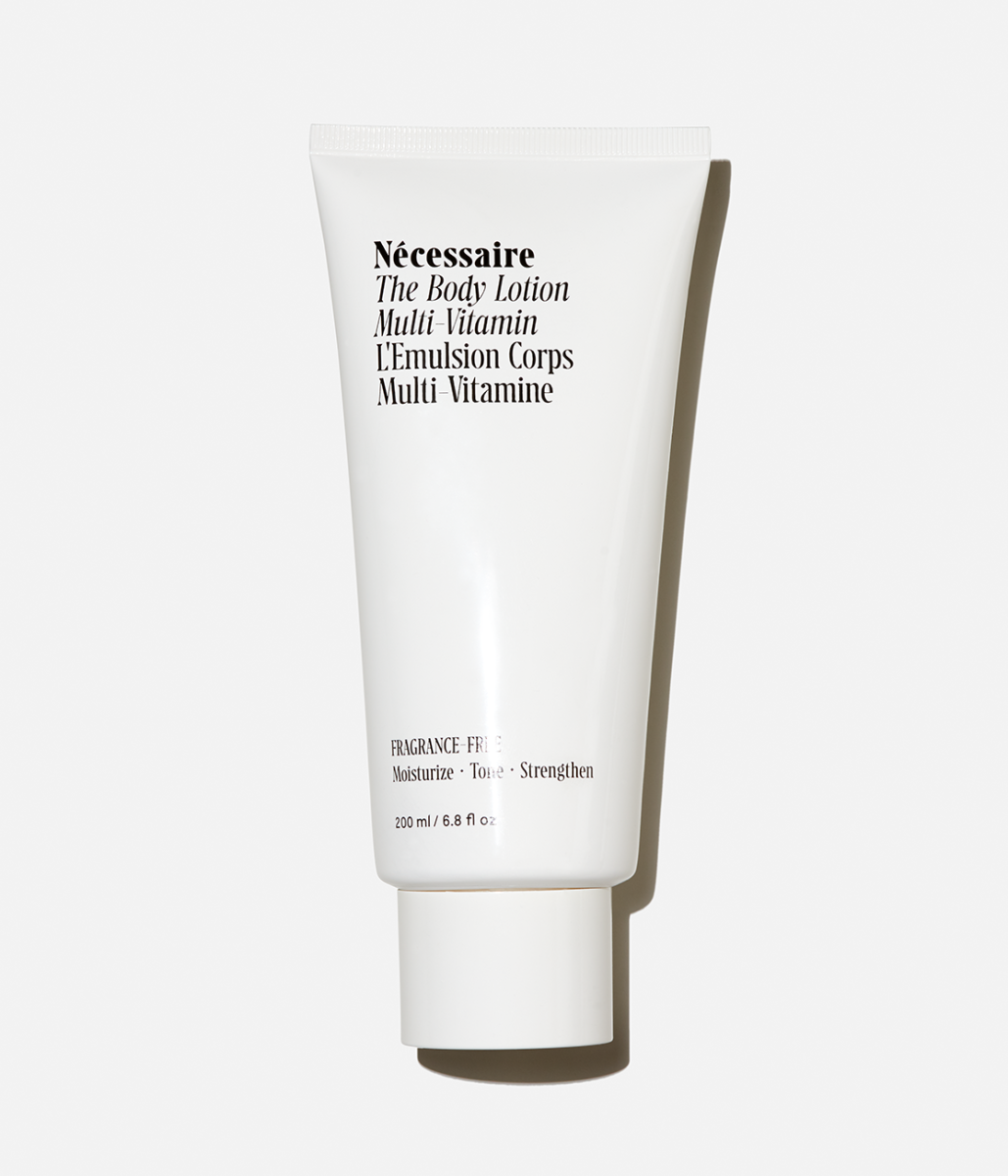 Nécessaire The Body Lotion, $25, available here. Photo: Courtesy of Nécessaire