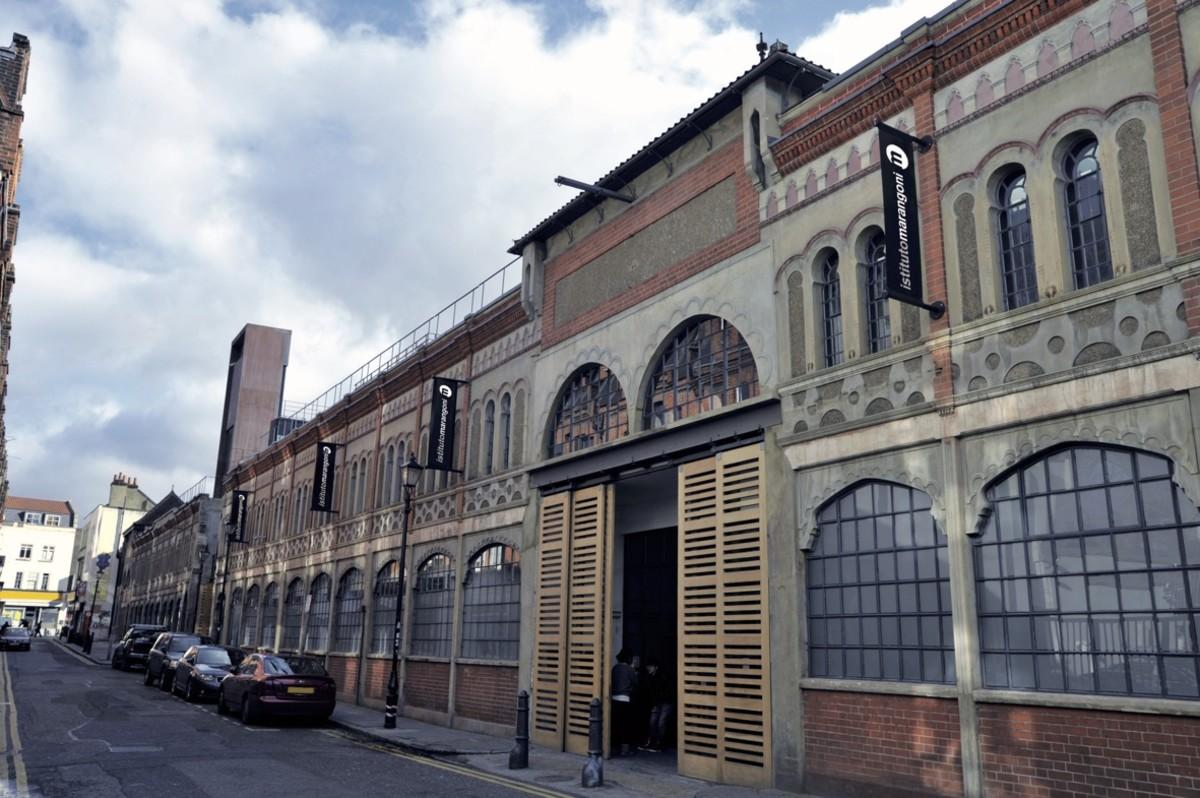 Istituto Marangoni London campus exterior. Photo: Courtesy of Istituto Marangoni