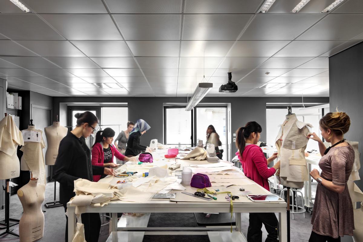 Paris pattern cutting room. Photo: Courtesy of Istituto Marangoni