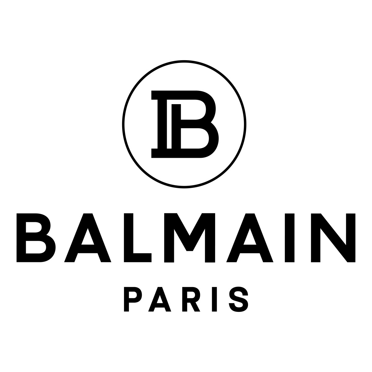 Balmain's new logo and monogram. Photo: Courtesy of Balmain