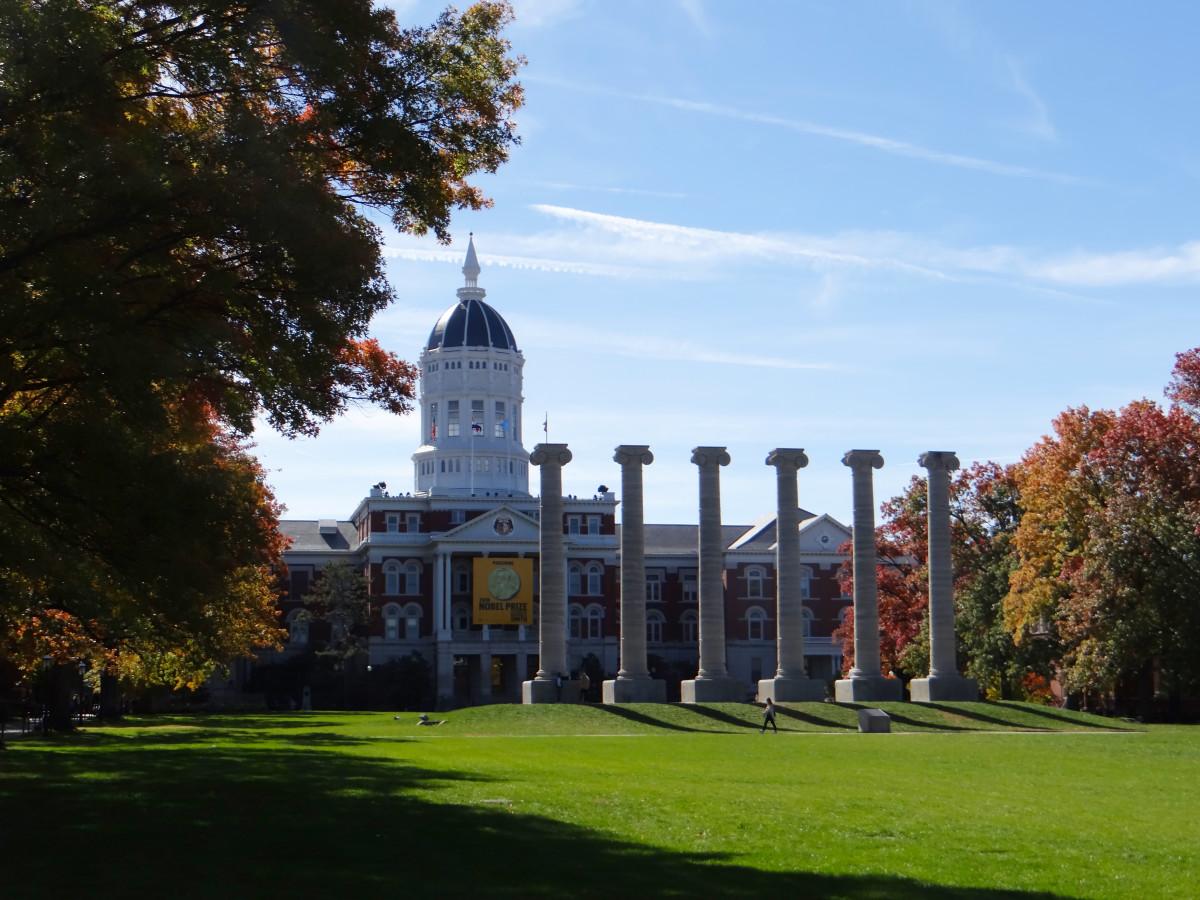 University of Missouri exterior. Photo: Amy Sanders