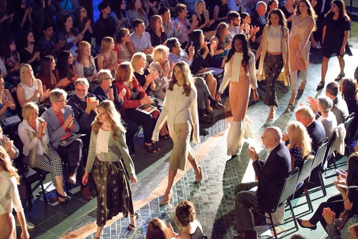 Student fashion show. Photo: Courtesy of Washington University