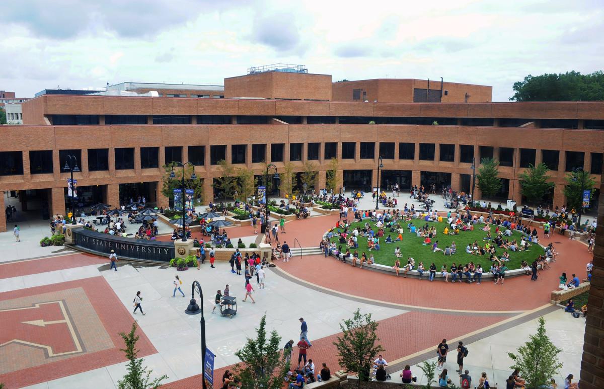 Kent State University campus exterior.Photo: Courtesy of Kent State University