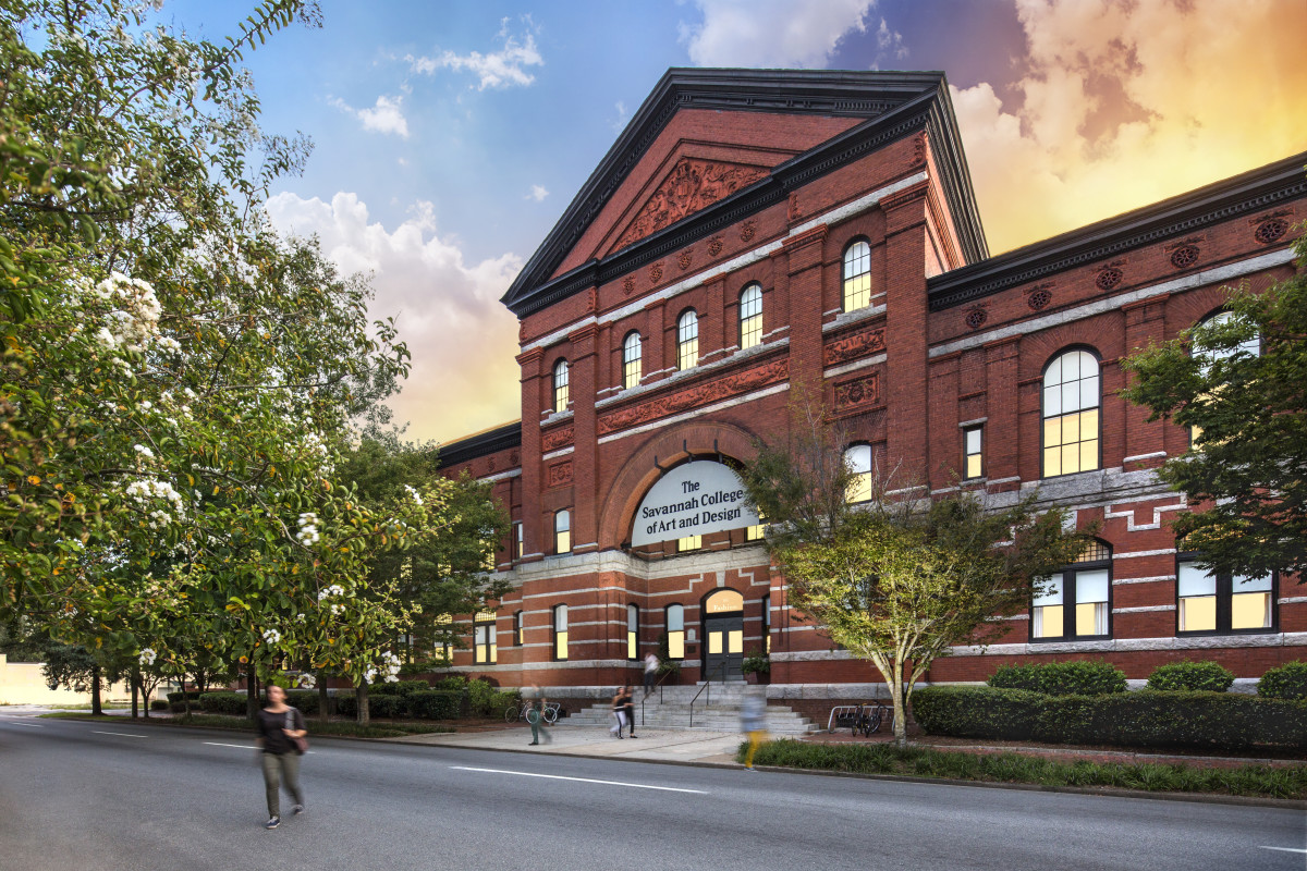 Savannah College of Art and Design campus exterior. Photo: Courtesy of SCAD Photography