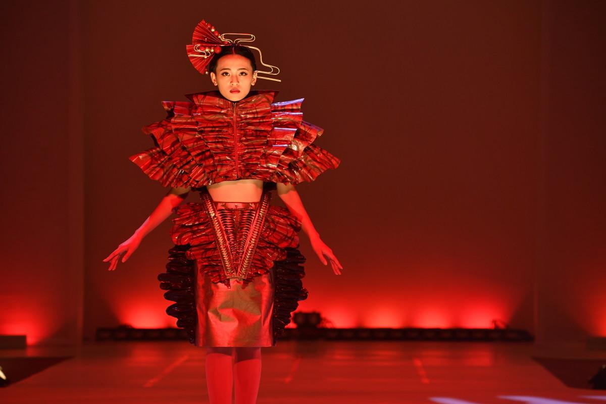 A student design. Photo: Courtesy of Bunka Fashion College