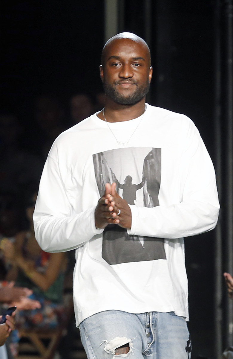 Virgil Abloh. Photo: Thierry Chesnot/Getty Images