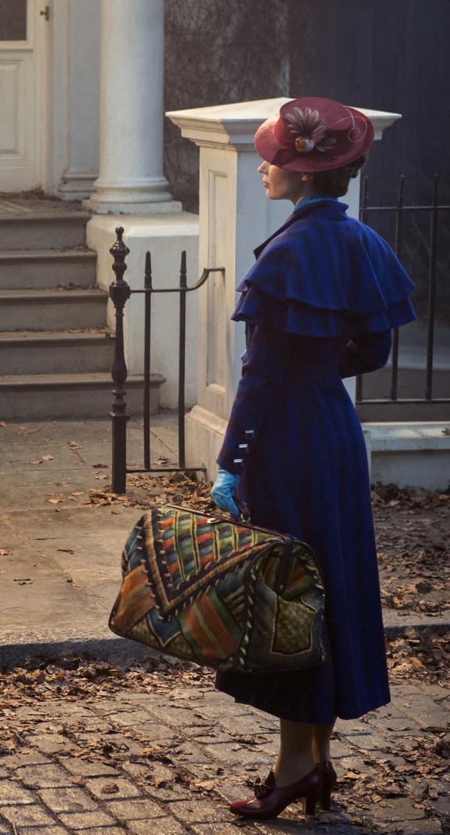Mary Poppins (Emily Blunt). Photo: Jay Maidment/Courtesy of Disney Enterprises