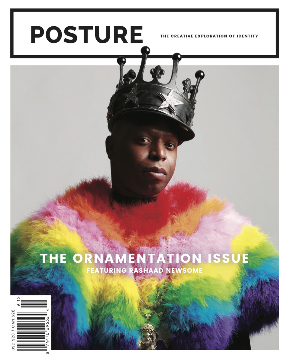 """Posture"" Magazine's Issue 2 cover. Photo: Courtesy of ""Posture"""