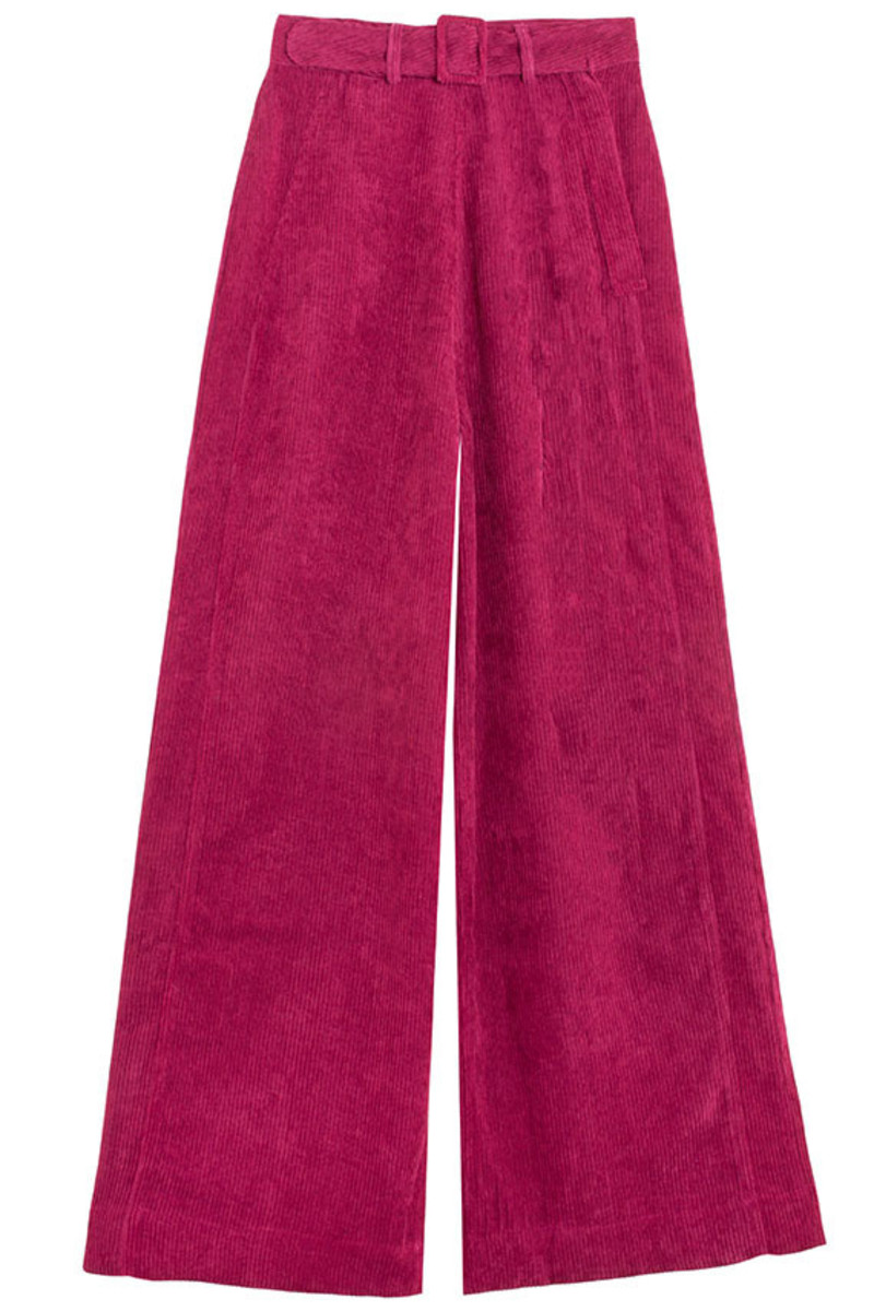 Samantha Pleet Magenta Tightrope Pants, $220, available here.