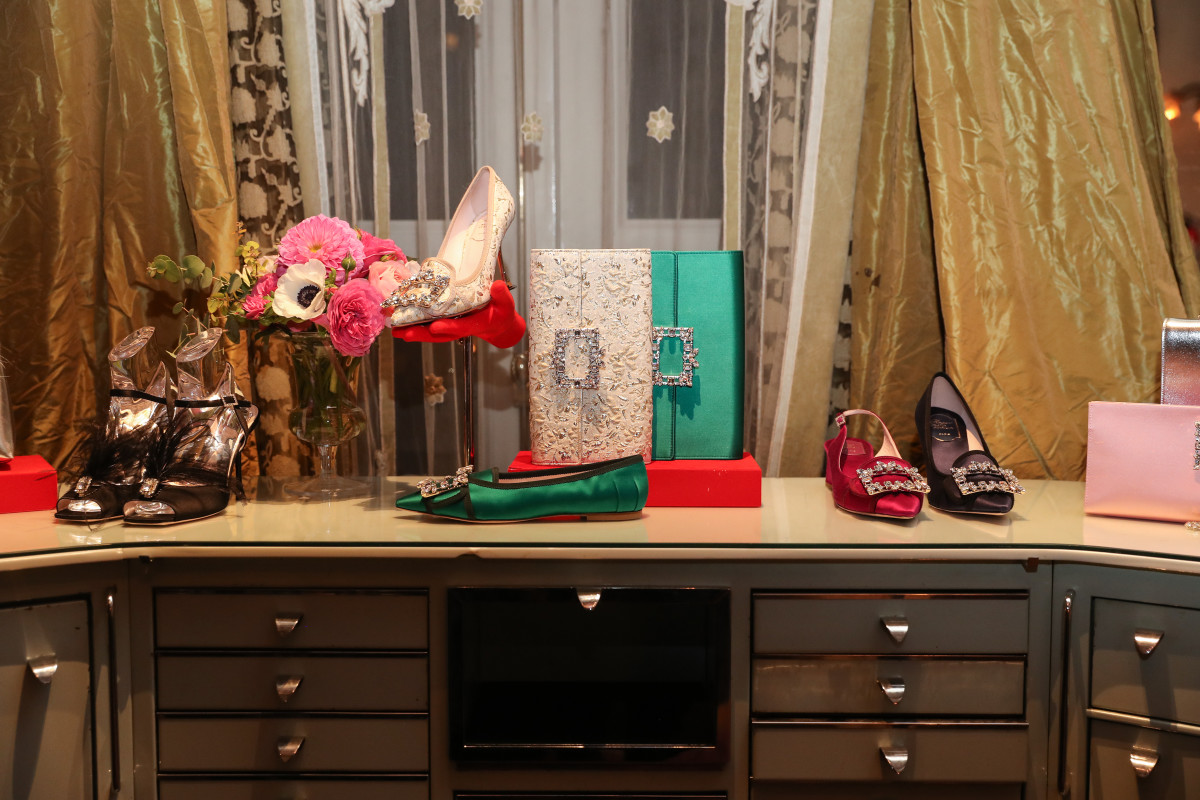Gherardo Felloni's designs for Roger Vivier at Hotel Vivier in New York City. Photo: BFA/Courtesy of Roger Vivier