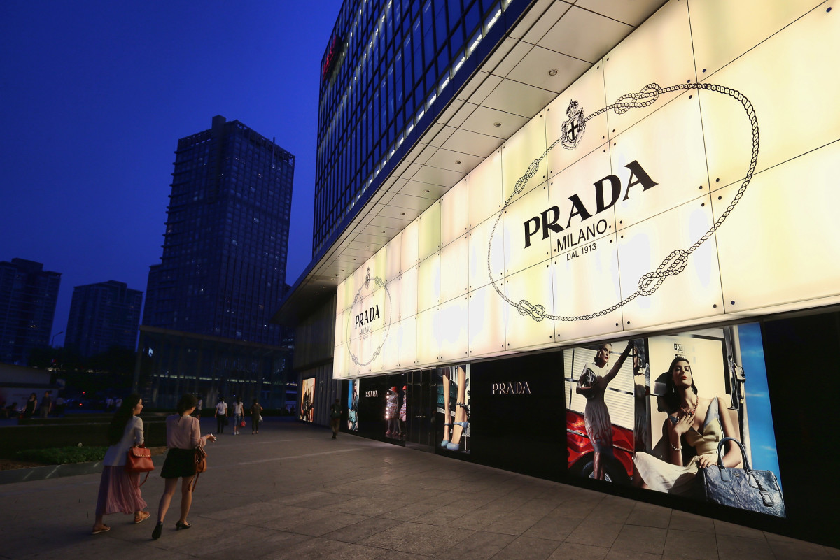 A Prada store. Photo: Feng Li/Getty Images