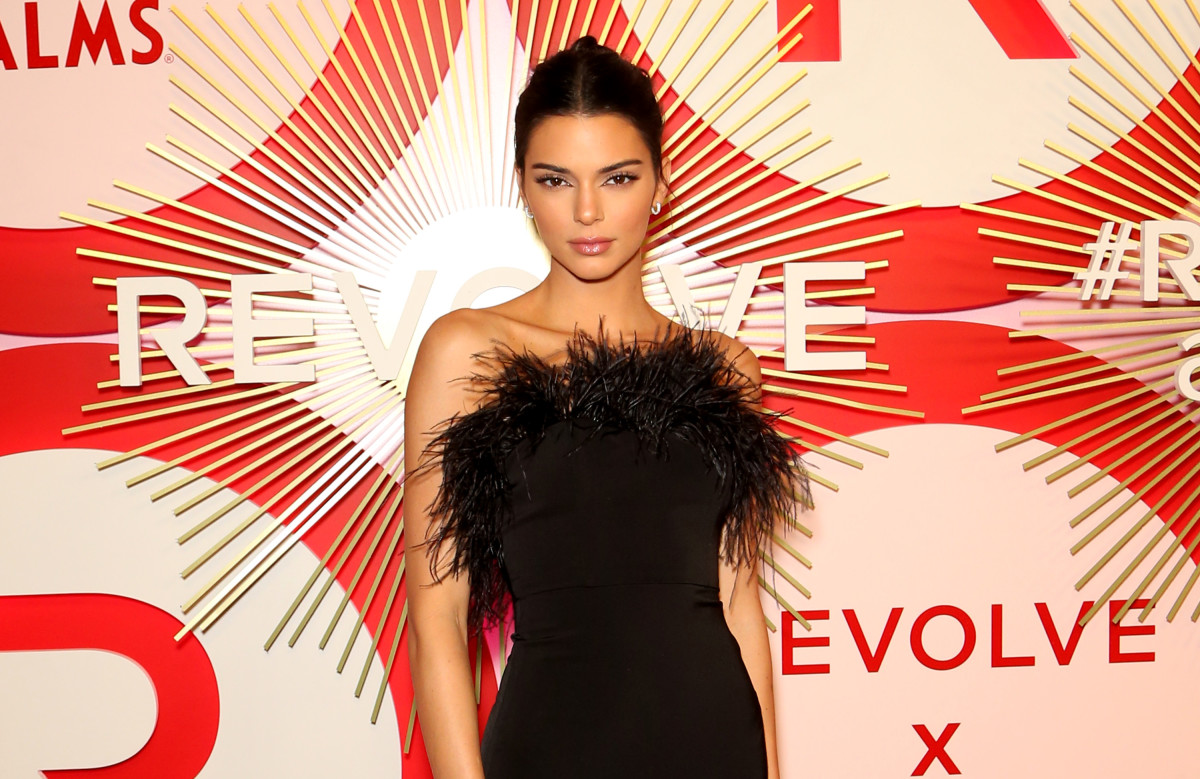 Kendall Jenner at the 2018 Revolve Awards. Photo: Gabe Ginsberg/Getty Images