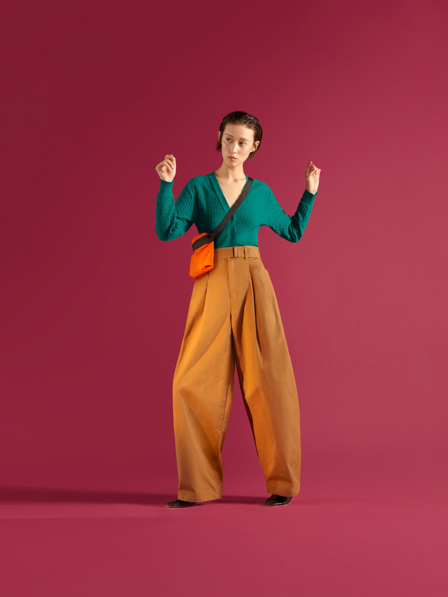 A look from the Uniqlo U Spring 2019 collection. Photo: Courtesy of Uniqlo