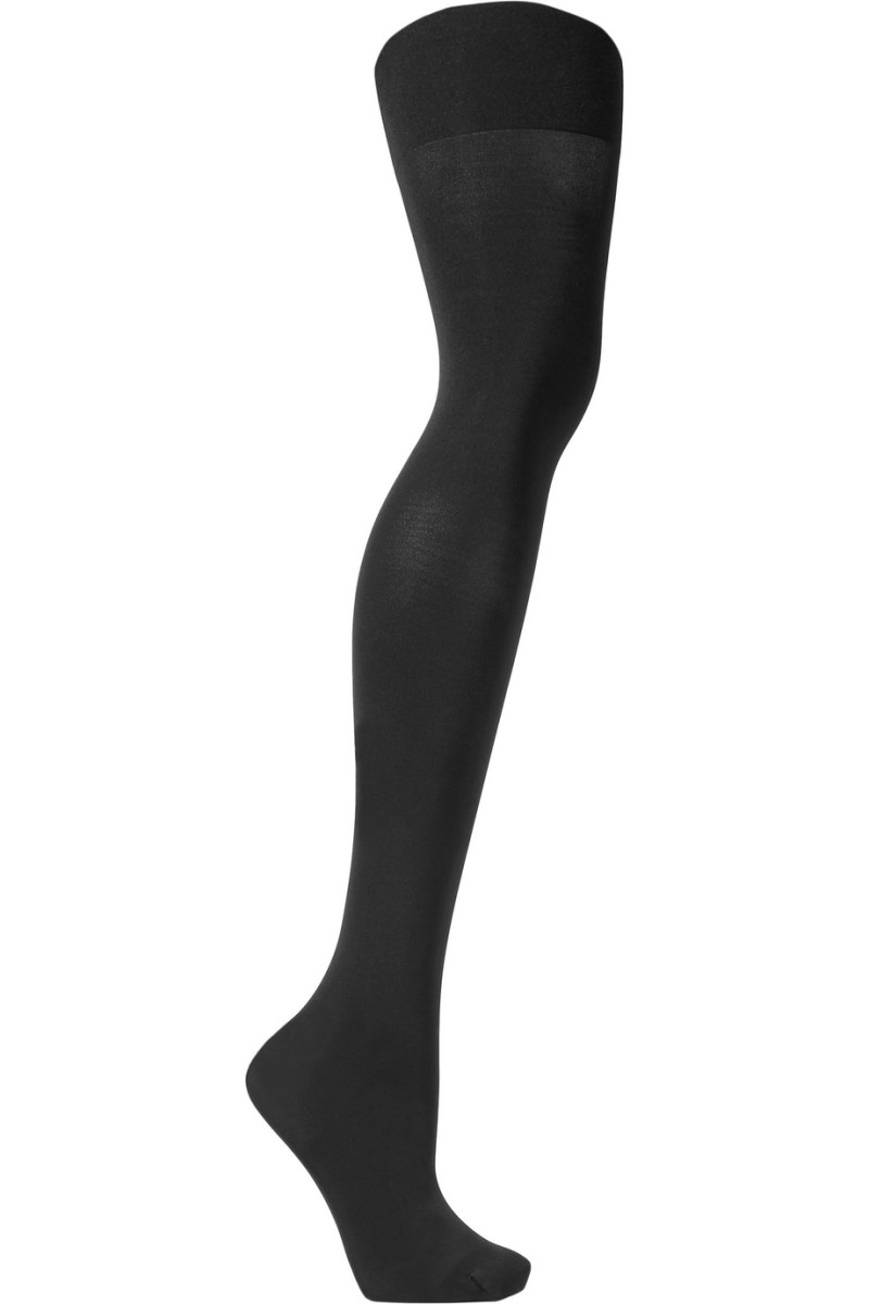 Spanx Luxe Leg High-Rise 60 Denier Shaping Tights, $38, available here.