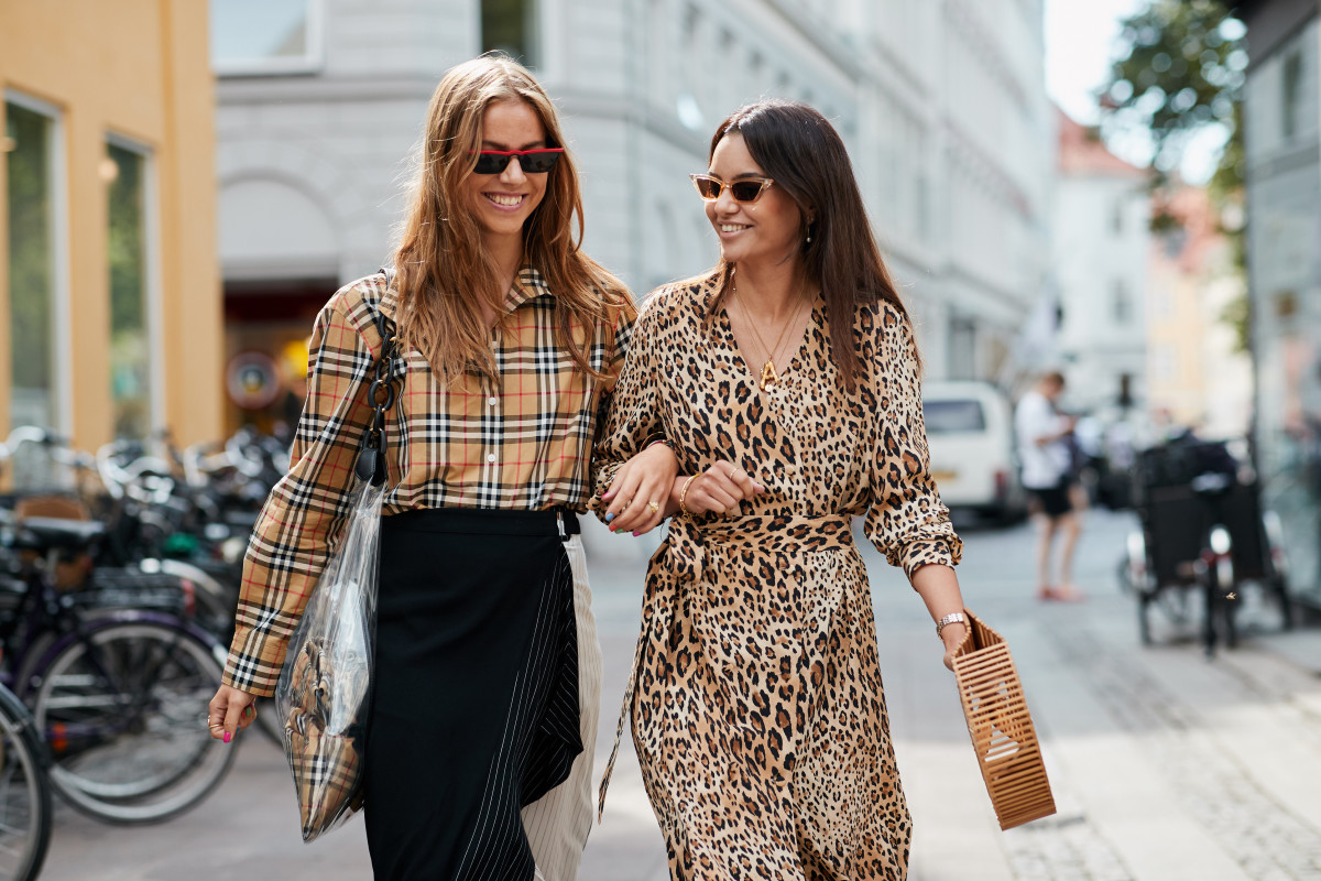 Street style at Copenhagen Fashion Week. Photo: Imaxtree