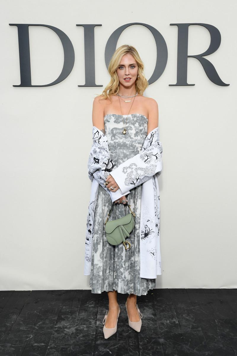 Chiara Ferragni at Dior's Spring 2019 show. Photo: Pascal Le Segretain/Getty Images For Christian Dior