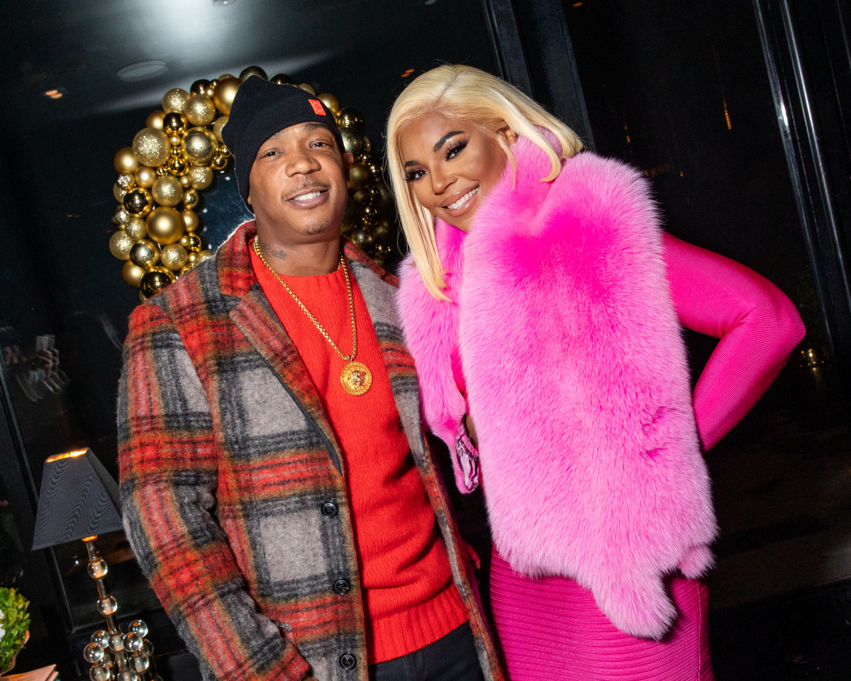 Throwback! Ja Rule and Ashanti attend a party celebrating the Ashanti x Miss Circle collaboration in New York. Photo: Benjamin Lozovsky/Courtesy of BFA