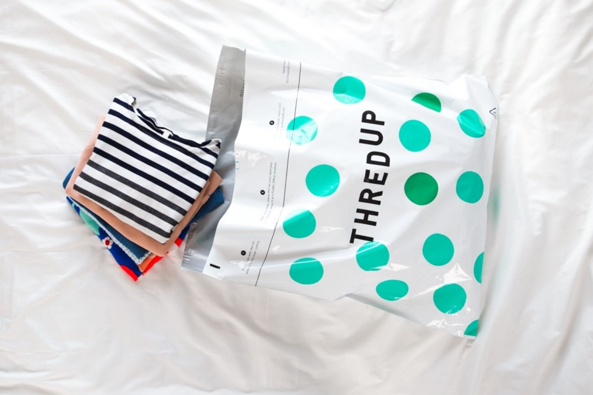 A Thredup recycling kit. Photo: Courtesy of Thredup