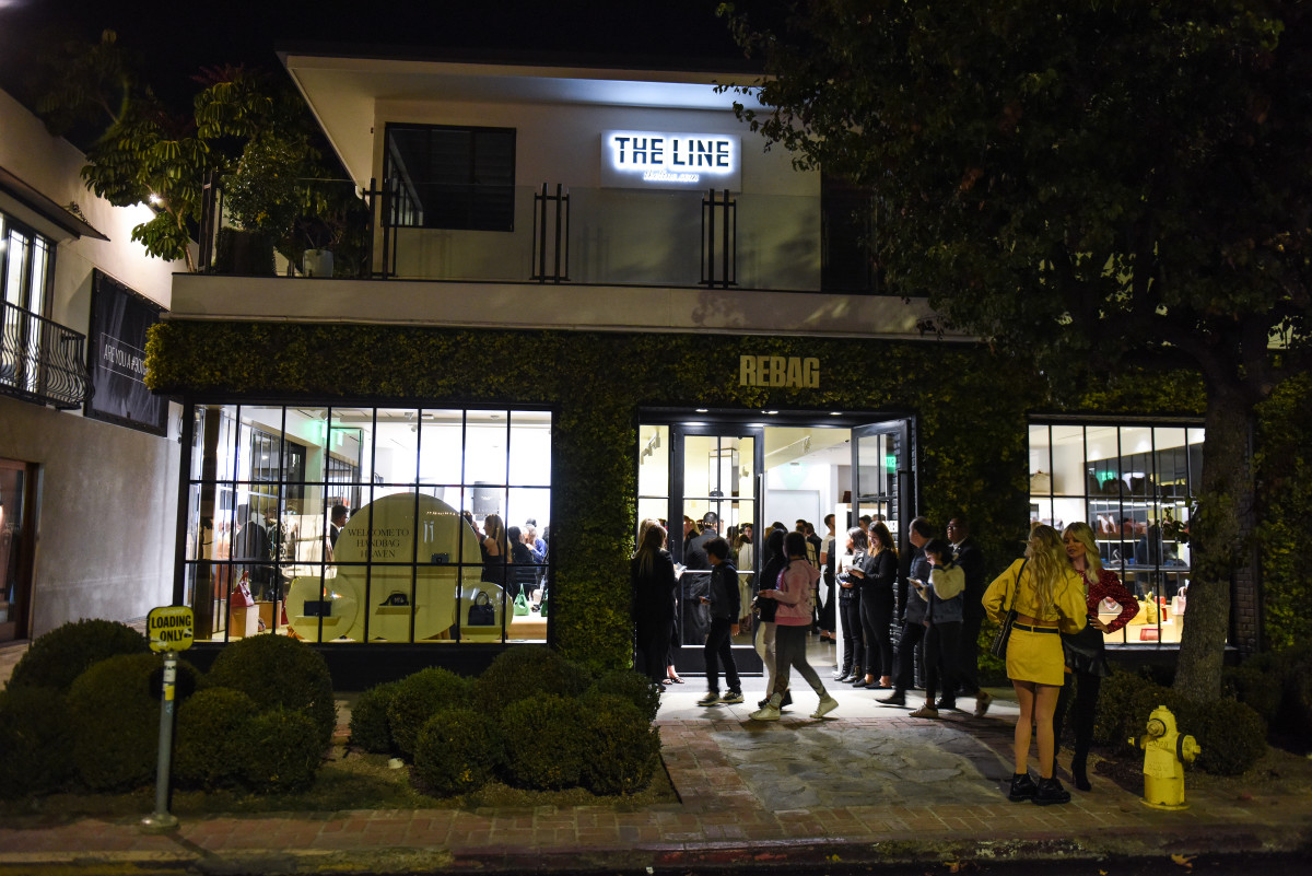 Rebag's Melrose Place store. Photo: BFA
