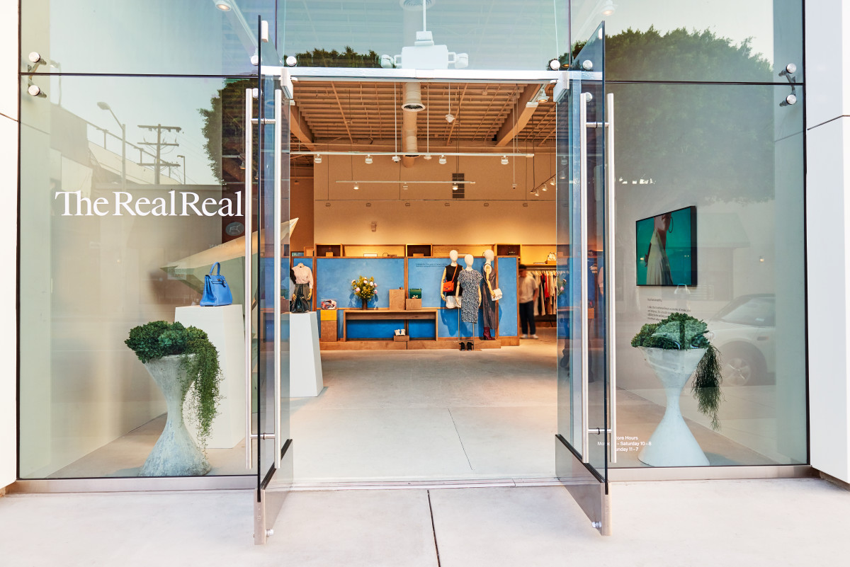 The RealReal Melrose store. Photo: Joyce Lee Studio